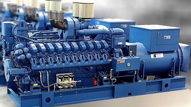 Доставка промышленных генераторов из Германии под ключ