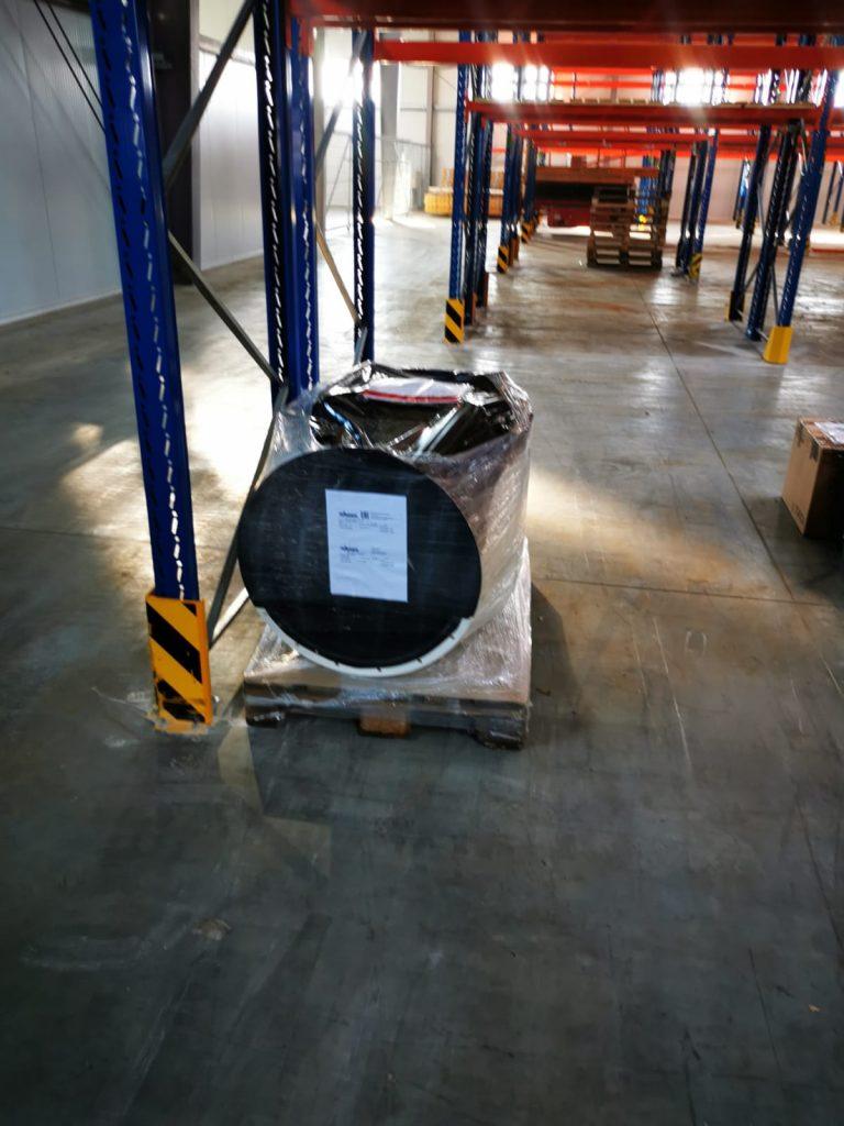 Доставка линии порошковой окраски WAGNER из Германии в Москву