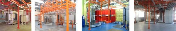 Доставка промышленных линий по окраске из Эстонии под ключ