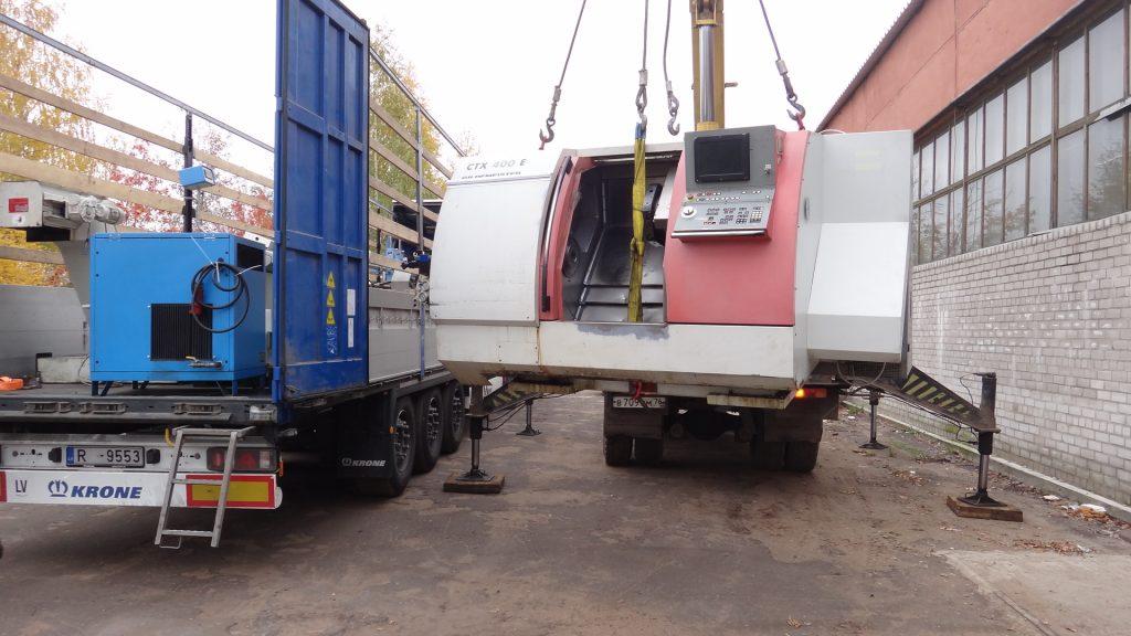 Доставка промышленного оборудования из Германии под ключ