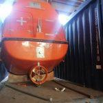 Негабаритная перевозка спасательного бота