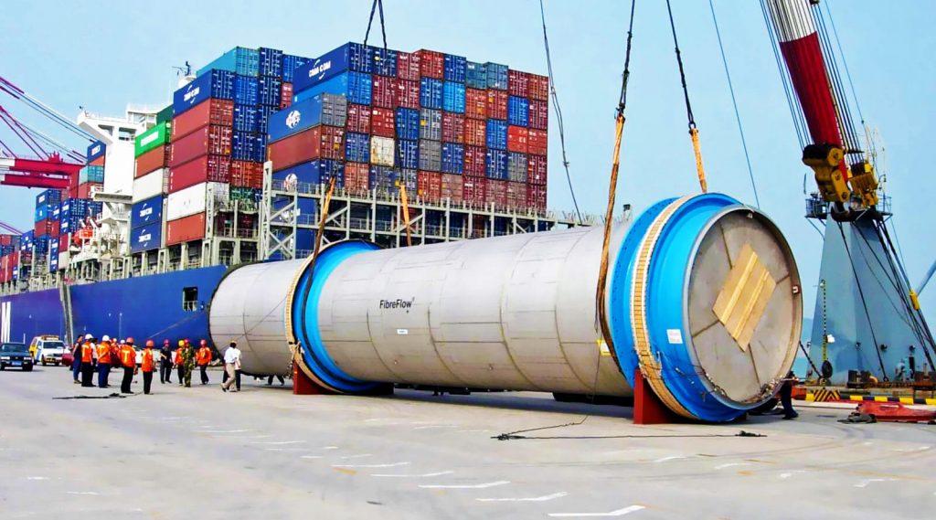 Как доставить негабаритный груз из Китая морем