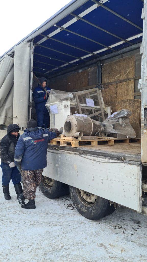 Перевозка линии по производству макарон Узбекистан-Казахстан